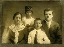 vintage porträtt foto