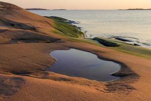 baltiskt havslandskap foto