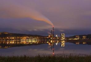 kvällsatmosfär foto
