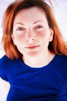 rödhårig porträtt foto