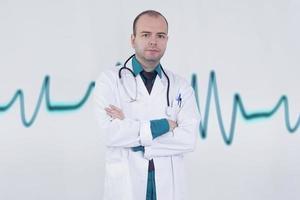 läkare porträtt foto