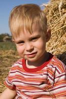 pojkes porträtt foto