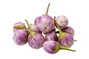 asiatisk violett aubergine foto