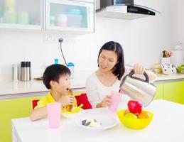 asiatisk hälsosam kost foto