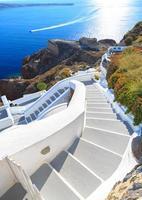 grekland santorini foto
