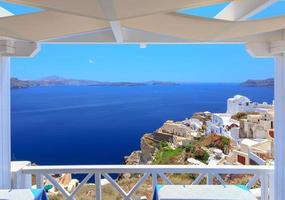 santorini greece foto
