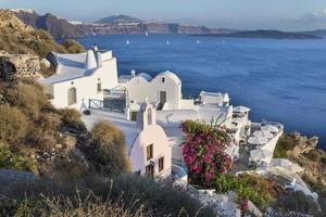 ö i Santorini Grekland foto