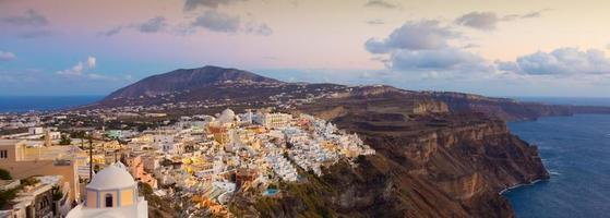 thira, santorini, Grekland. foto
