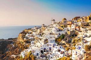 oia, santorini, Grekland foto