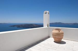 Grekland, santorini. foto