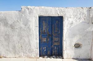 Grekland, santorini, dörr