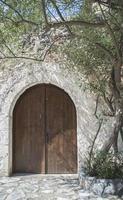 typiskt grekiskt hus foto