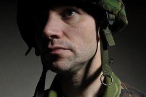 soldatporträtt foto