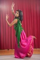 Bollywood porträtt serie foto