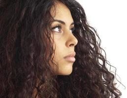 porträtt av kvinna foto
