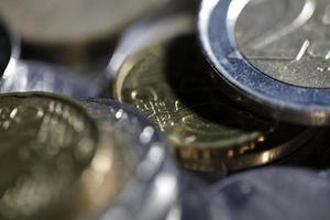 mynt - närbild foto