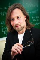 porträtt av professor foto