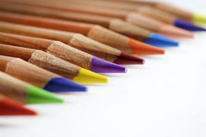 pennor på nära håll foto