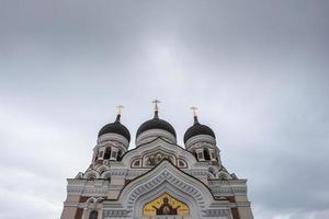 närbild kyrka foto