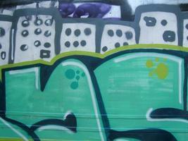 graffity närbild foto