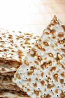 matzos på nära håll foto