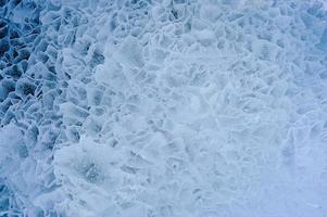 is. närbild. foto