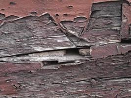 gamla målade trä foto