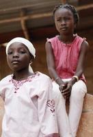 afrikanska flickor foto