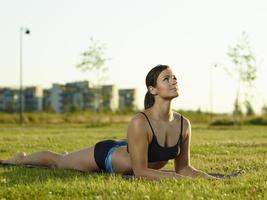 fitness kvinna foto