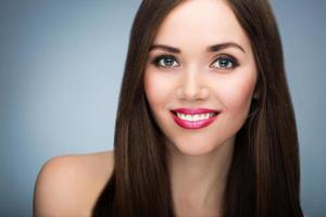 kvinna skönhet porträtt foto