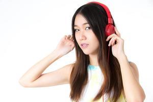 njut av musik foto