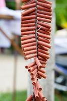 fyrverkerier i kinesisk stil foto