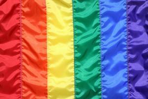 regnbågsflagga foto