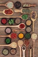 kryddor och örter foto