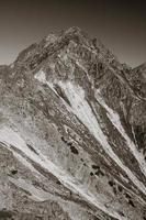 topp i höga tatras, Slovakien foto