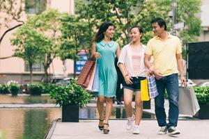 efter shopping foto