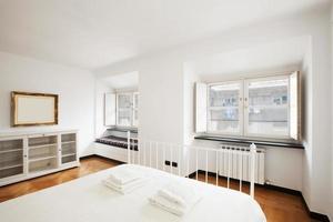 modernt hus, lägenhet foto