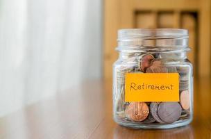 ekonomisk plan för att spara pensions pengar