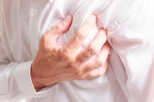 hjärtattack foto