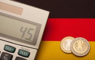 högsta skattesats i Tyskland foto