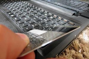 online shopping koncept foto