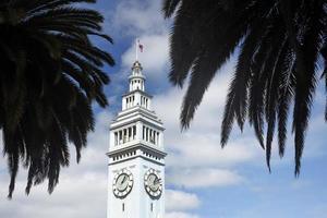 färjeterminalen vid pir 1 i San Francisco foto