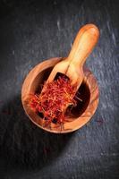 saffran krydda foto