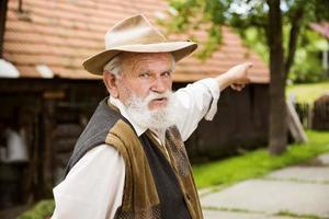 gammal bonde foto