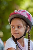 lilla cyklist foto