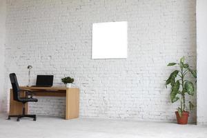 ett intressant exempel på en kontorsinredning foto