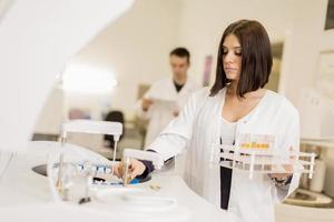 medicinskt laboratorium foto