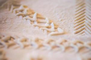 isländskt bröd med mönster foto