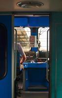 tågkonduktör foto