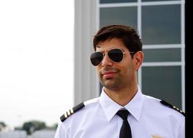 profil för pilot foto